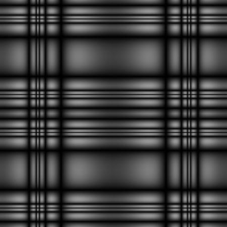 seamless tillable dark silver metallic tartan style background with stripes Stock Photo - 2513470