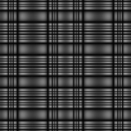 seamless tillable dark silver metallic tartan style background with stripes photo