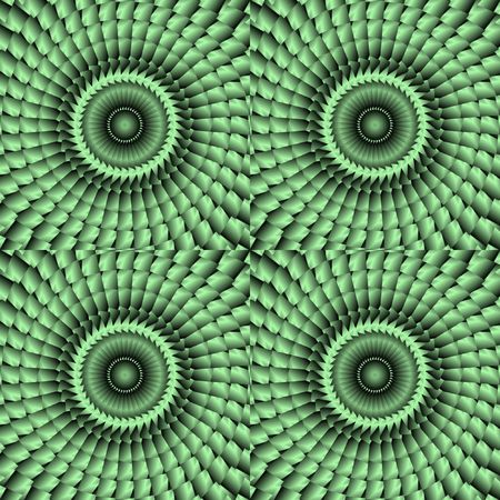 green scaled background tile with kaleidoscopic look Stock Photo - 3089967
