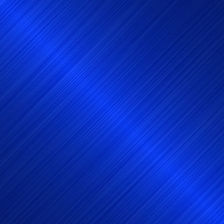 brushed blue metallic background with diagonal highlight
