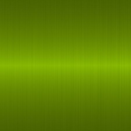 brushed green metallic background with central highlight Stock Photo