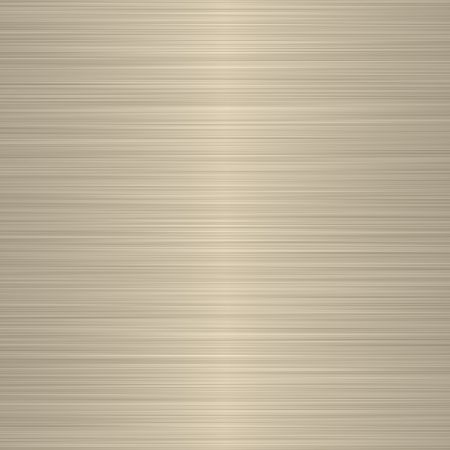 beige: brushed silver beige metallic background with soft central highlight Stock Photo