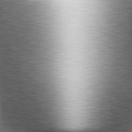 brushed silver metallic background with broad highlight