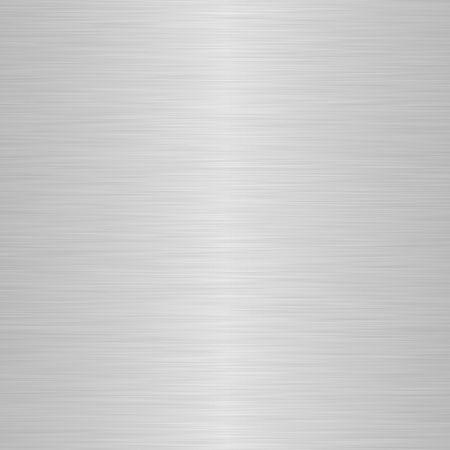brushed silver metallic background with soft central highlight Stock Photo