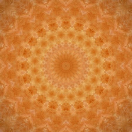 Kaleidoscopic image that resembles a mandala, chakra or abstract flower. Stock Photo - 3089934