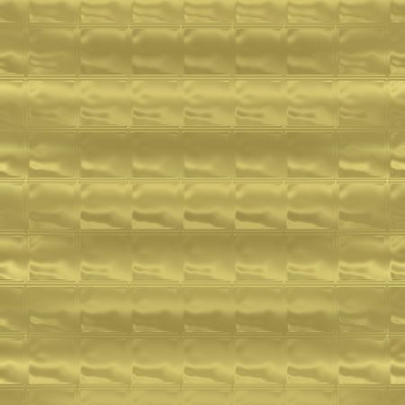 golden background tile with glass block look photo
