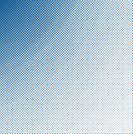 edgy: Psychedelic halftone blue pattern with little dots and grungy, edgy look Stock Photo