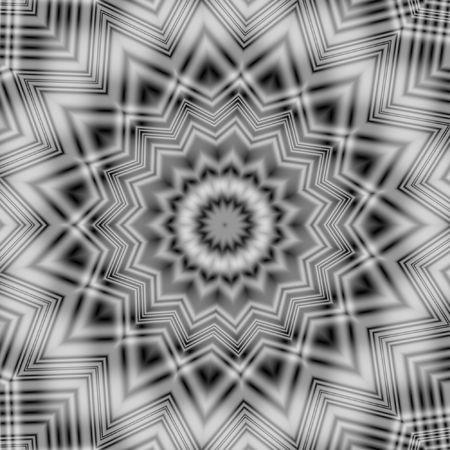 tartan style background with kaleidoscopic look photo