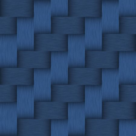 tileable: seamless tileable brushed dark blue metallic background with jeans look and colors Stock Photo