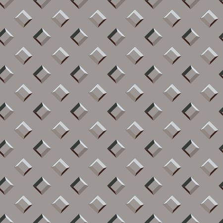 seamless grey metal bumpy pattern background with red highlights Stock Photo - 3089968