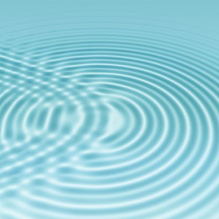 elegant clear blue ripples background with interference photo
