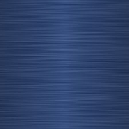 brushed aluminium: brushed dark blue metallic background with central highlight   Stock Photo