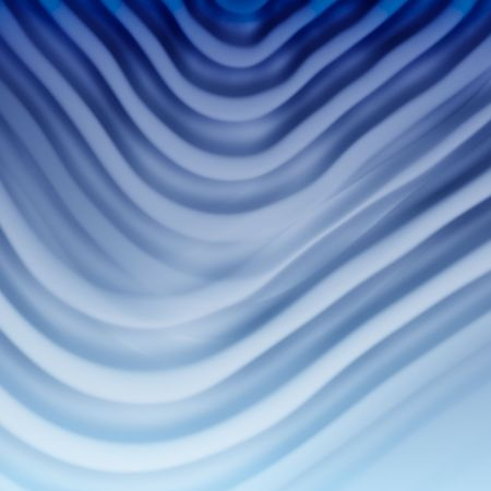 rippled: elegant satin or silk blue triangle background, very smooth