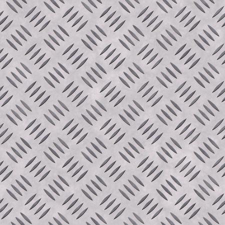 metal diamond plate, seamlessly tillable Stock Photo - 3385226