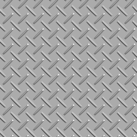 seamless long metal diamond pattern background