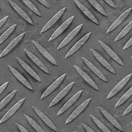 metal diamond plate, seamlessly tillable Stock Photo - 3385294