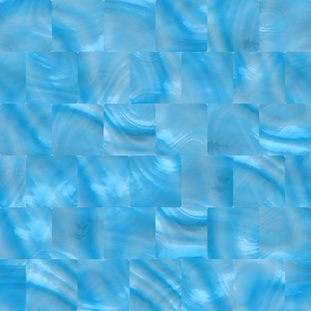 tillable: light blue ceramic tiles for bathroom, kitchen or swimming pool, seamlessly tillable Stock Photo