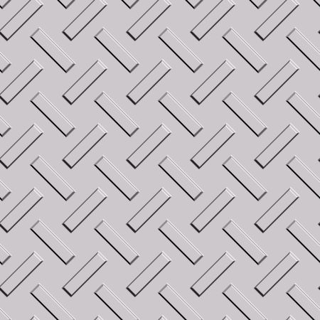 seamless long metal rectangular pattern background Stock Photo - 3385308