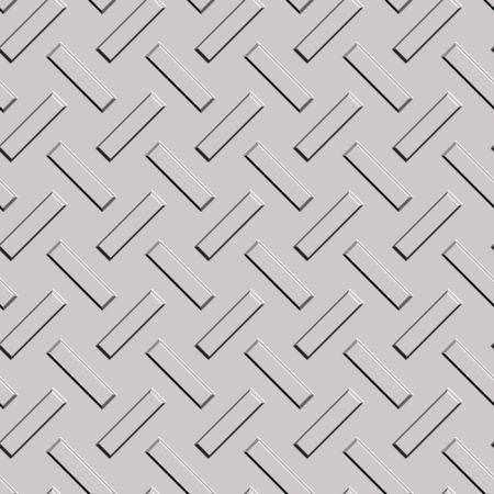 seamless long metal rectangular pattern background Stock Photo - 3385308