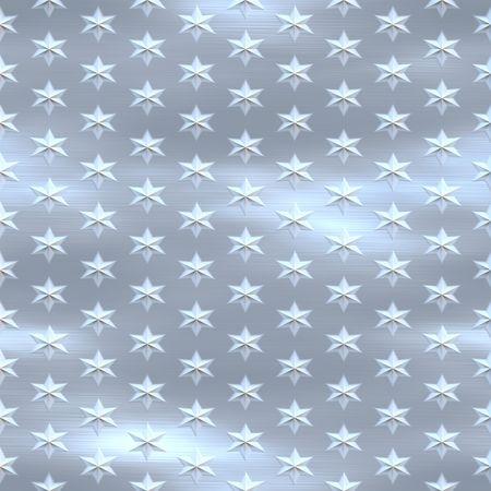 diamondplate: blu argento spazzolato starfield, senza soluzione di tillable
