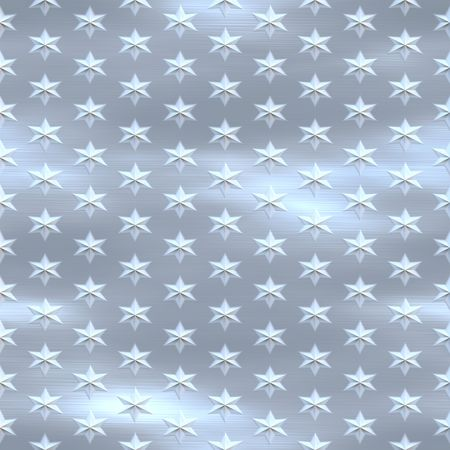 silver blue brushed starfield, seamlessly tillable Stock Photo - 3385380