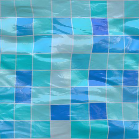 sumergido: Big Blue baldosas cer�micas sumergido bajo el agua, sin tillable