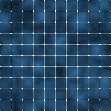 seamlessly: blue solar cells background, tiles seamlessly