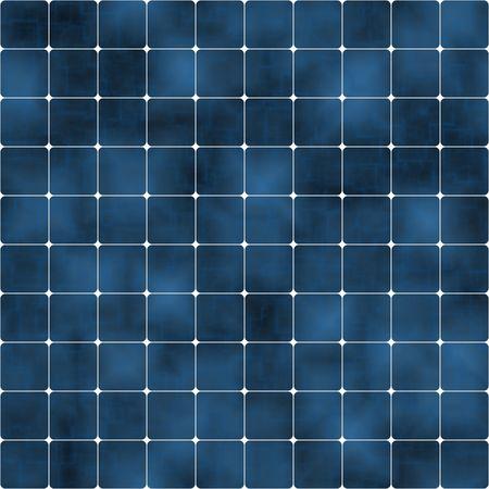 blue solar cells background, tiles seamlessly