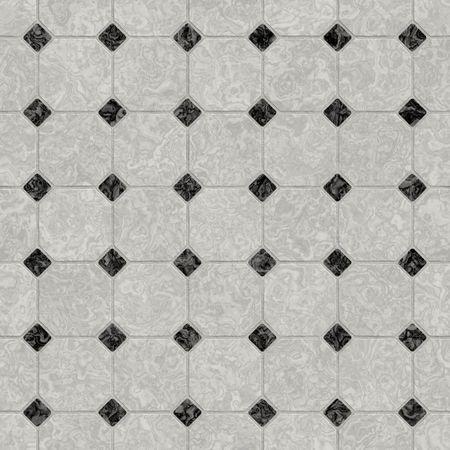 ceramiki: Elegancki czarno-białych marmurowe podłogi, bezproblemowo tillable