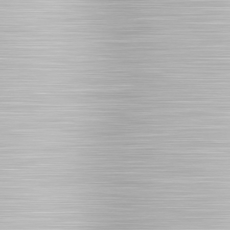 brushed aluminium: evenly scratched, brushed metal, tiles seamlessly Stock Photo