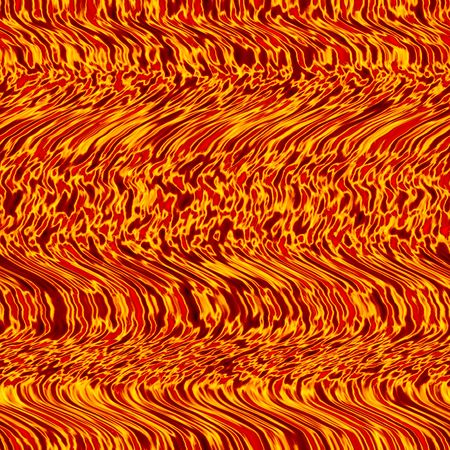 tillable: wavy fire background, seamlessly tillable Stock Photo