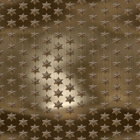golden, copper brushed starfield, seamlessly tillable photo