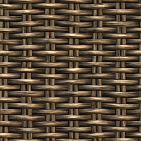 wicker basket weaving pattern, seamless texture for background Stock Photo - 3386926