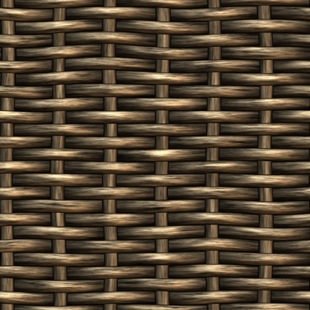 wicker basket weaving pattern, seamless texture for background Stock Photo - 3386925