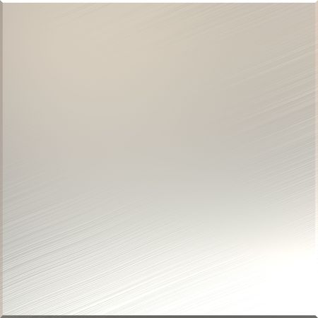 brushed aluminum mirror with highlights Stock Photo - 3808011