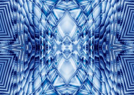 craquelure: rippled abstract kaleidoscopic background