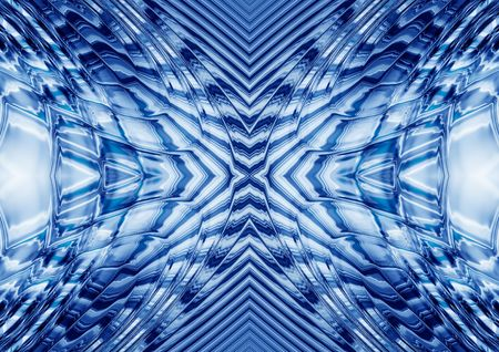 rippled abstract kaleidoscopic background photo