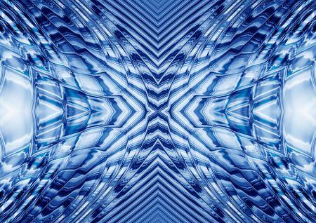 kaleidoscop: rippled abstract kaleidoscopic background