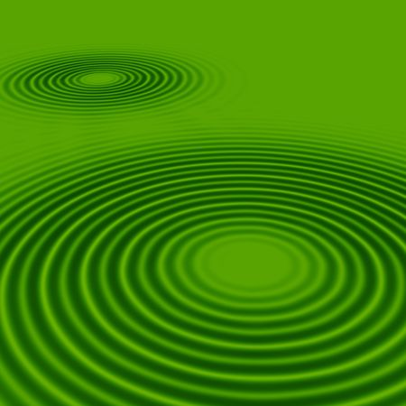 rippled: smooth green rippled background