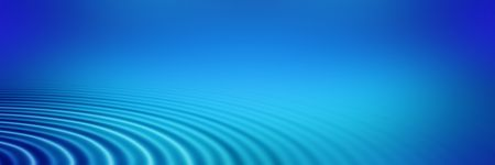 elegant big blue concentric ripples on a banner or header Stock Photo - 3807858