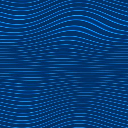 blue wavy background, will tile seamlessly Stock Photo - 3807969