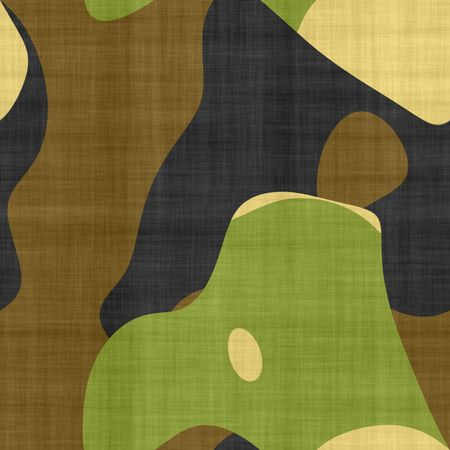 tillable: camouflage fabric background, seamlessly tillable Stock Photo