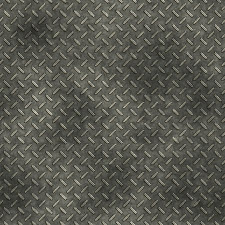 dirty  metal diamond plate, seamlessly tillable Stock Photo - 3808042