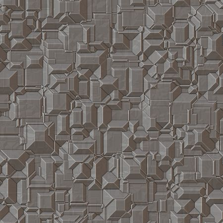 metallic industrial style background, will tile seamlessly as a pattern Stock Photo - 3809557