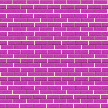 pink brick wall, will tile seamlessly as a pattern photo