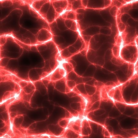 dendrites: abstract neon red electricity or neuron lines over black, seamlessly tillable as a pattern
