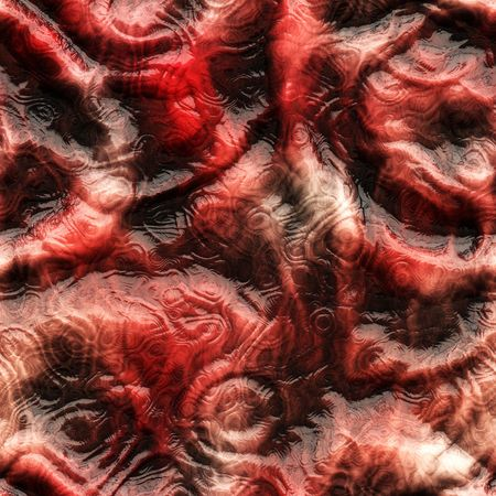 brainy: creepy, meaty, brainy horror or halloween background that tiles seamlessly as a pattern Stock Photo