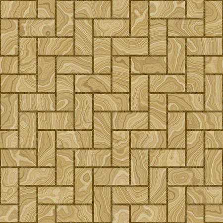 wooden parquet floor, seamlessly tillable  photo