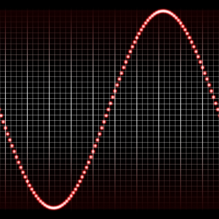 digitally created sound wave pattern, seamlessly tillable Stock Photo - 3818982