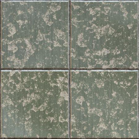 tillable: grungy metal plates, seamlessly tillable Stock Photo